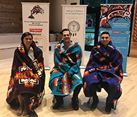ATSU-ASDOH Graduates Honored at Society of American Indian Dentists Blanketing Ceremony