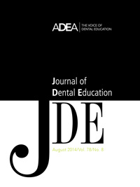 Preview the August 2014 Issue of the Journal of Dental Education