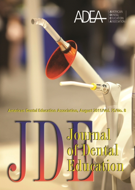 The Journal of Dental Education, Vol. 75 No. 8, August 2011