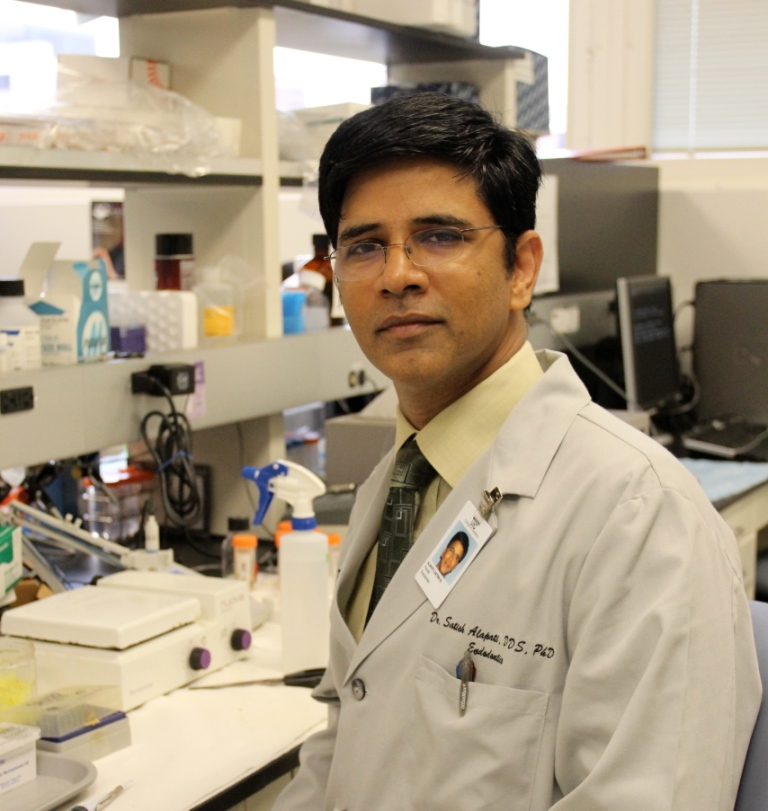 Dr. Alapati Receives NIH Grant to Study Stem Cell Therapeutics