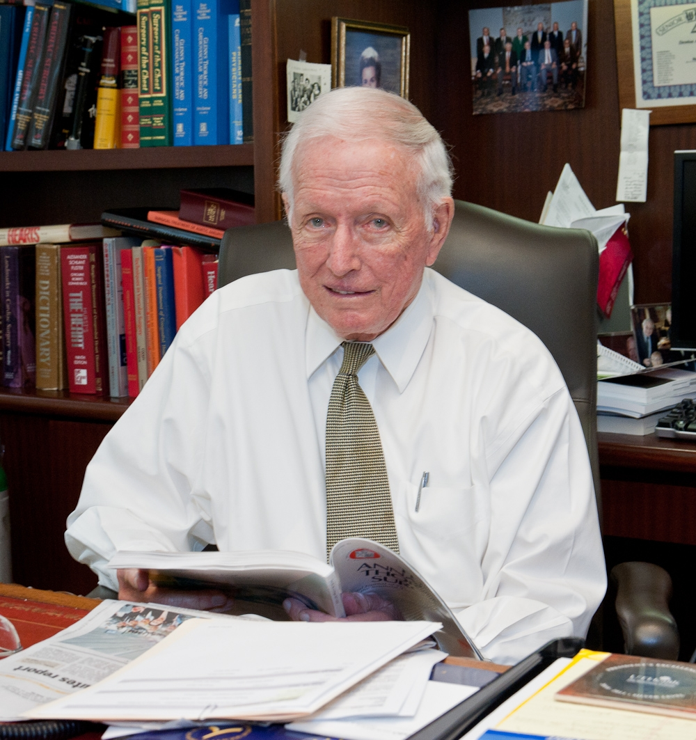 Dr. Denton A. Cooley; photo courtesty UTHealth