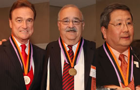 Drs. Boyd, Indresano and Shinbori (from left to right), 2012 Medallion