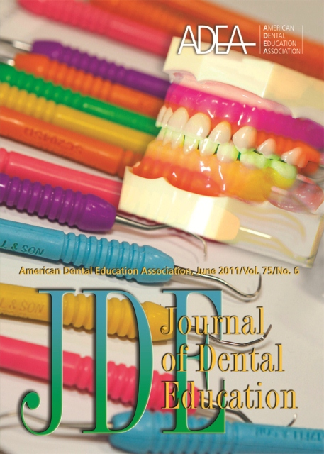 Journal of Dental Education; Volume 75, Number 6