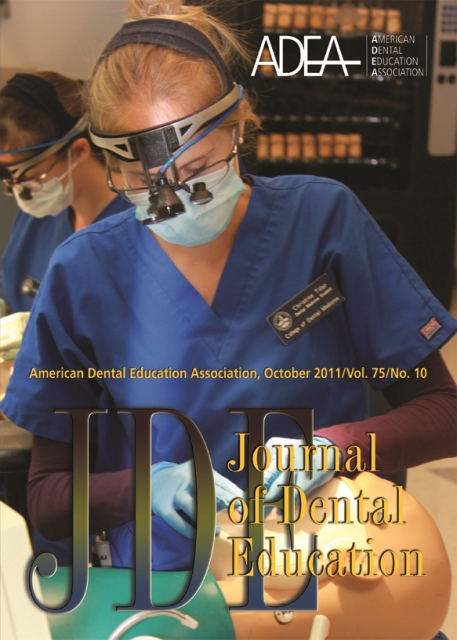 Supplement to the Journal of Dental Education