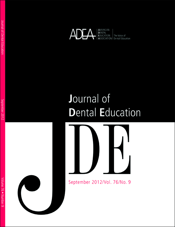 The September issue of the Journal of Dental Education will feature a new cover design.
