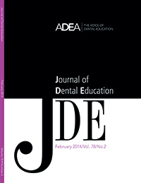 Preview the February 2014 Issue of the Journal of Dental Education