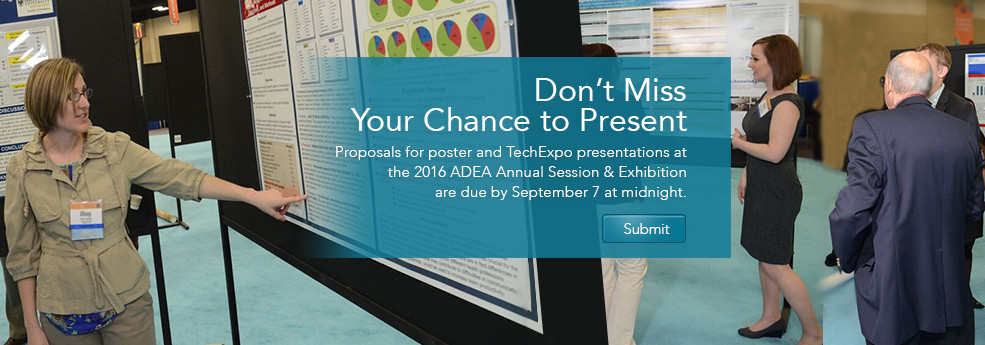 2016 ADEA Call for Posters and TechExpos