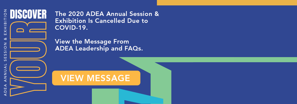 #ADEA2020 Cancelled