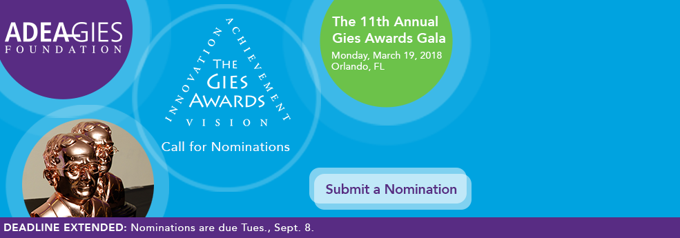 2018 Gies Awards Call for Nominations