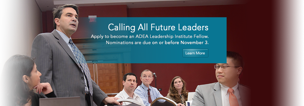 ADEA Leadership Institute