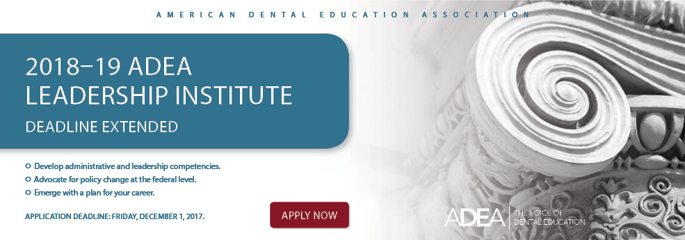 ADEA Leadership Institute Application