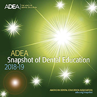 2018-2019 ADEA Snapshot of Dental Education