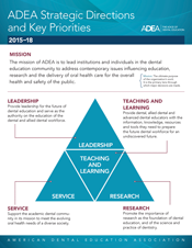 2015-18 ADEA Strategic Directions