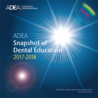 2016-2017 ADEA Snapshot of Dental Education