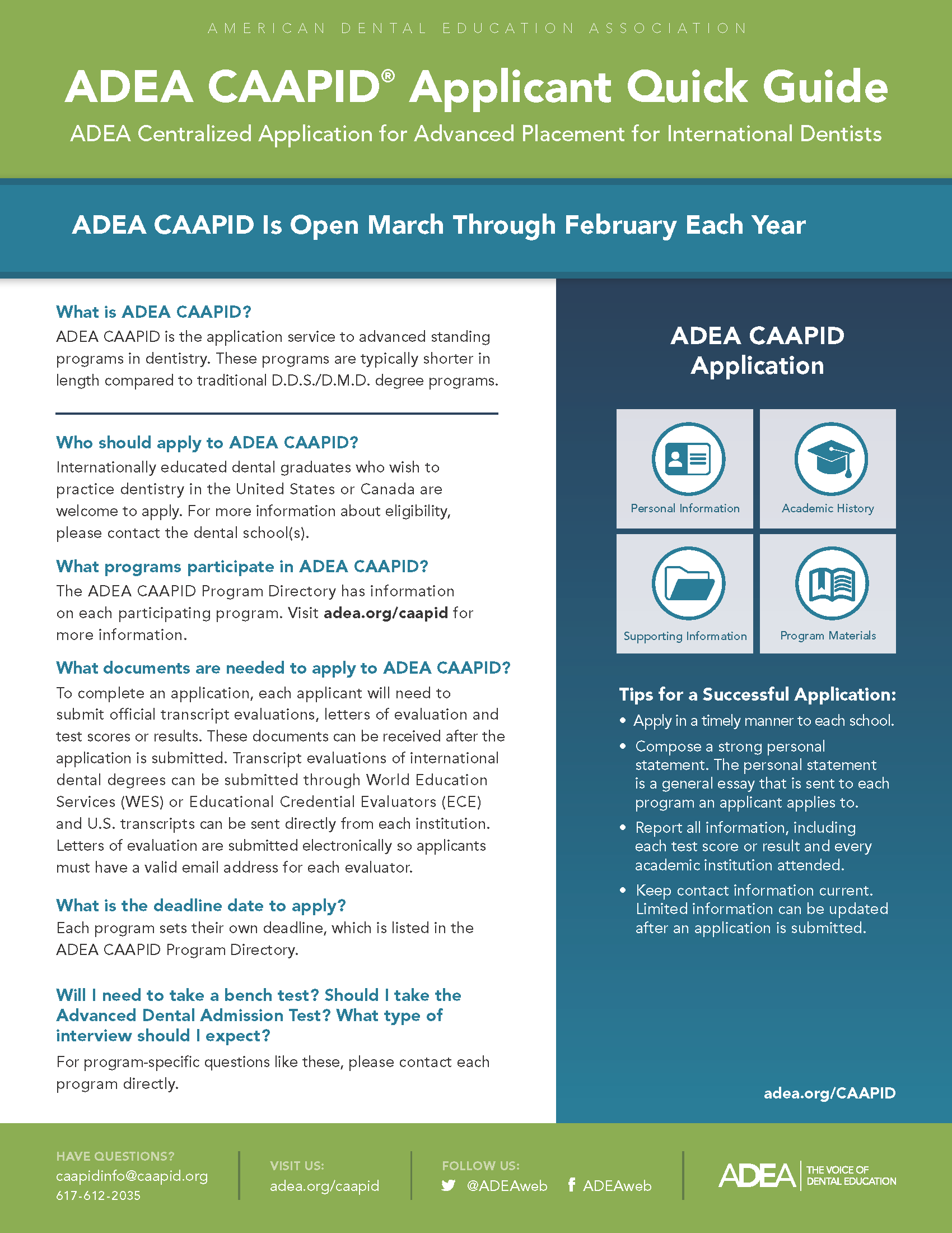 2020 CAAPID Quickguide