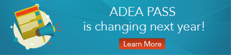 2017 ADEA PASS changes