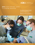 2014 ADEA Official Guide Cover Image
