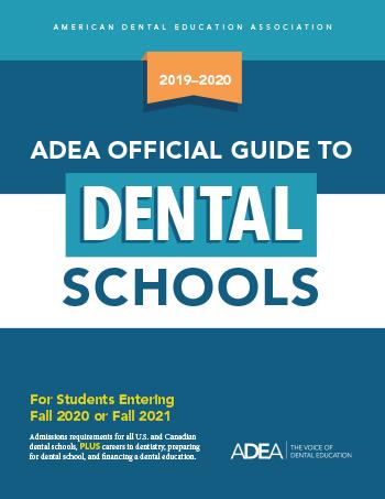 2019 2020 Adea Official Guide To Dental Schools - Map-of-us-dental-schools