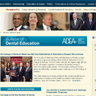 Advertising in the Bulletin of Dental Education