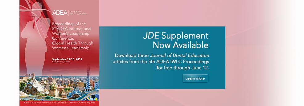 JDE Supplement: May 2015
