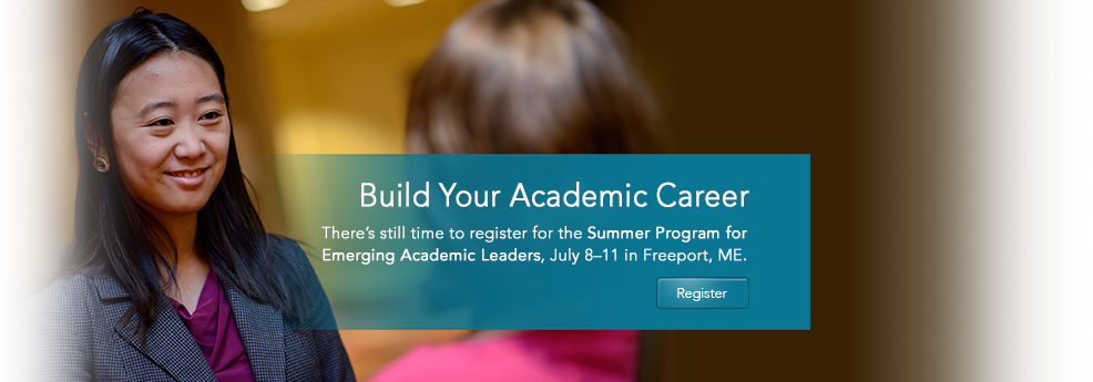 2015 ADEA Summer Program for Emerging Academic Leaders