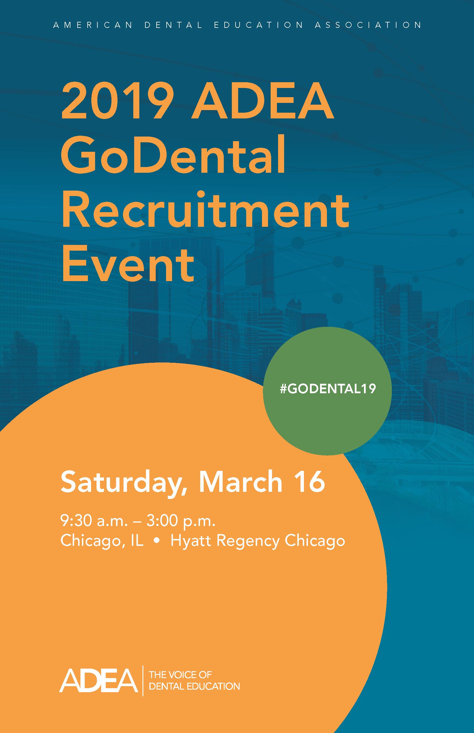2019 Adea Godental Recruitment Event - Map-of-us-dental-schools
