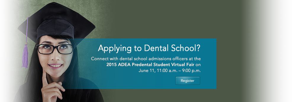 2015 ADEA Predental Student Virtual Fair